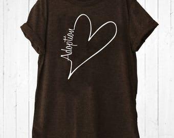 Adoption Shirt Brown - Love Adoption