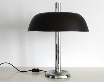 Egon Hall for Hall desk lamp brown, 1960s
