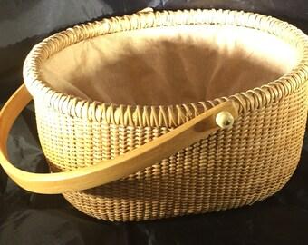 Nantucket Sewing Basket