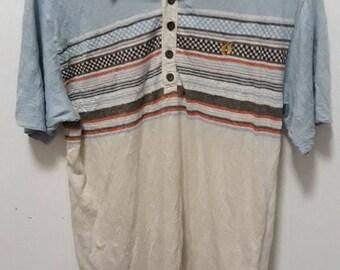 25% SALE Vintage Hang Ten triblend surfers shirt 80s 90s