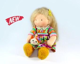 Hippie Waldorf Doll