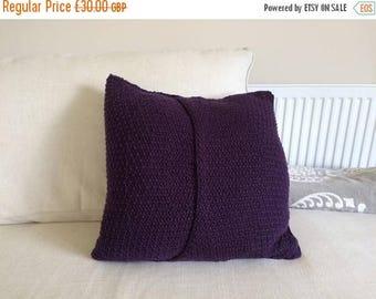 SALE Handmade Knitted Cushion