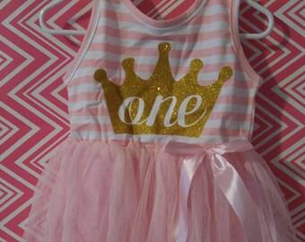 Baby girl toddler birthday tutu dress