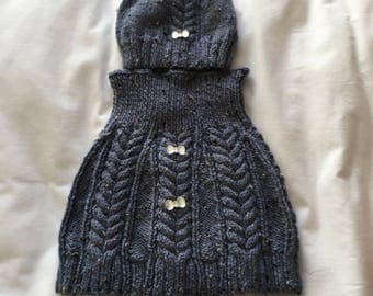 Girls Capelet and hat