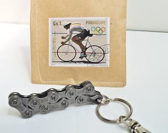 Upcycling Bike Keychain Bike Bone