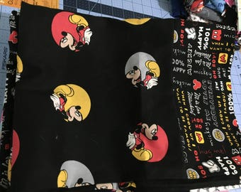 Mickey Mouse pillow case