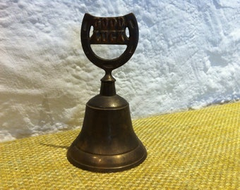 Vintage Made in India - Bell jar - GOOD LUCK