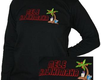Gifts Under The Mele Kalikimaka Tree Christmas Shirt
