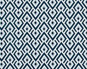 SALE! -  Archery Navy Curtains - Designer Curtains  Panels - Window Curtains - Window Curtain Panels - Window Treatments - Drapes