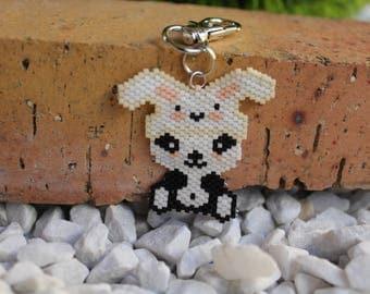 Panda with miyuki beads
