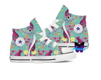 Custom Trolls Converse Shoes!
