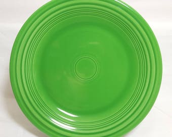 "Vintage Fiesta Medium Green 10"" Plate"