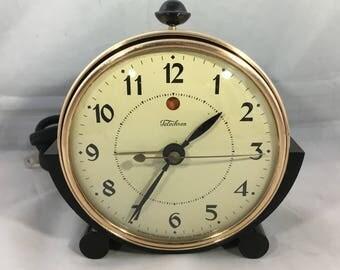 "Telechron ""Telebell"" Model 7F53  Alarm Clock"