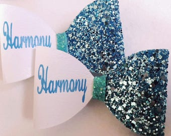Personalised name bow