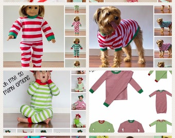 PREORDER Christmas Pajamas for the Whole Family