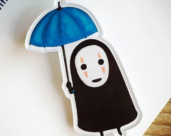 Studio Ghibli - No Face Pin