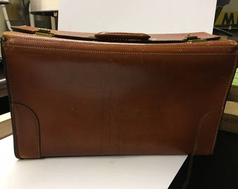 Vintage Briefcase, Leather Briefcase