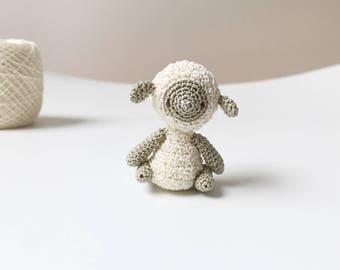 TINY SHEEP crochet amigurumi sheep, amigurumi lamb, crochet lamb, sheep gift for kids, gift for her, nursery decoration, sheep decoration