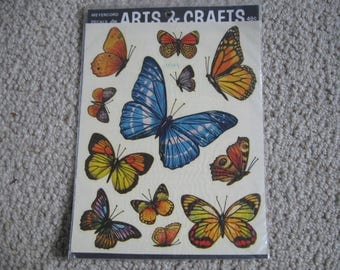 Meyercord Butterfly Decals for Arts and Crafts 1518-E