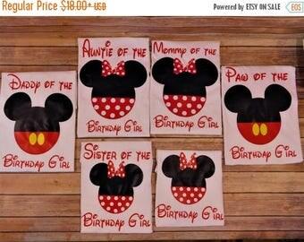 ON SALE Disney birthday shirts, Custom Disney matching shirts, Disney family shirts, Disney vacation, Birthday shirts with name, Disney Crui