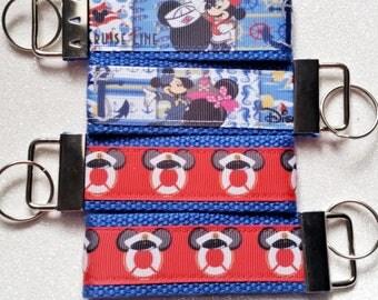 Cruise Key Fob Keychain Zipper Pull