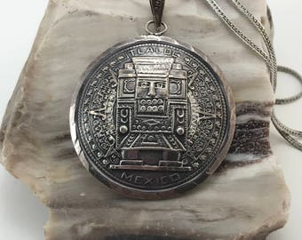 Sterling Silver Pendant From Mexico