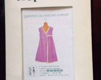 Pattern cut couzu dress hanging heart 4 / 12
