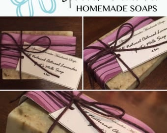 Oatmeal Lavender Goat's Milk Soap