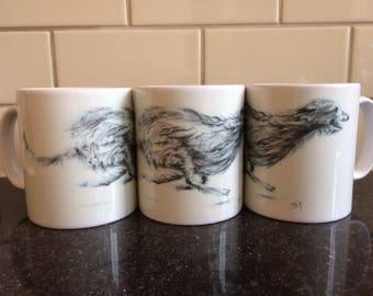 Hairy Hound Mug