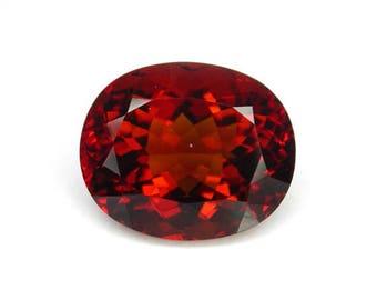 39.6 ctw. imperial topaz loose gemstone.