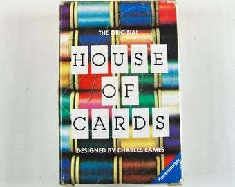 The Original House of Cards Designed by Charles Eames