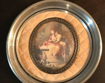 A Cameo Creation picture. La Declaration d'Amour by Jean Honore Fragonard