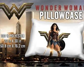 Wonder Woman Gal Gadot Pillowcase