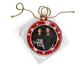 One Tree Hill Scott Brothers Nathan Lucas Christmas Ornament