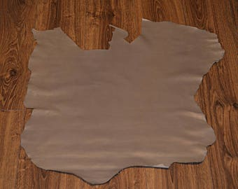 Coupon of leather taupe (9490981)