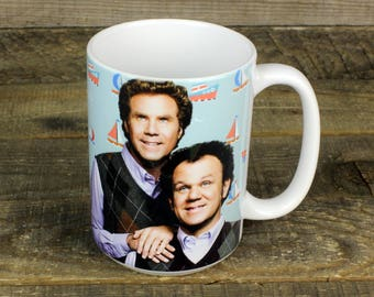 Step Brothers MUG Will Ferrell John C Reilly Movie Gifts for Him Brennan Dale Prestige Worldwide Catalina Wine Mixer Boats Hoes Best Friends