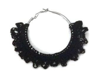 Crochet Earring Hoop