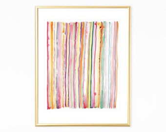 Abstract wall art,Colorful prints,Instant printable art,stripes print,instant nursery art,digital prints,printable wall art,pastel print