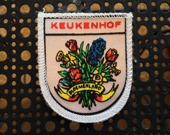 Vintage Ski Patch Keukenhof