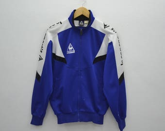 LE COQ SPORTIF Track Top Vintage 90's Le Coq Sportif  Spell Out Track Top Zipper Jacket Size M