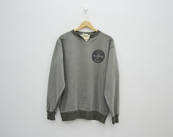 """AVIREX U.S.A. """"Royal Air Force"""" 23th Tactical Fighter Wing Long Sleeve Sweater Sweatshirt Size L"""