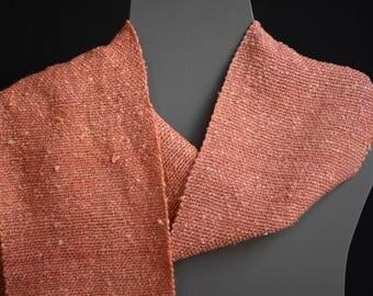 Silk Scarf - Handspun, Handwoven