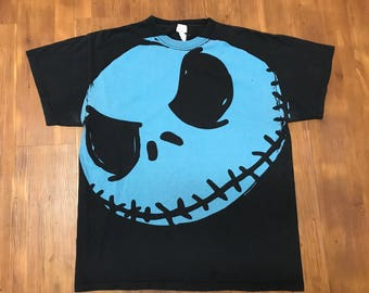 Vintage Nightmare before Christmas Promo T-shirt 90's Touchstone pictures Large Unisex