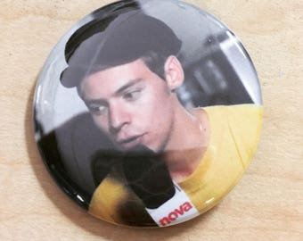 Harry Styles 2.25 inch pinback Button-Custom September 2017