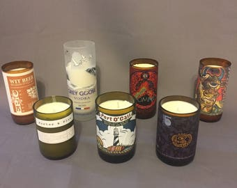 Large Bottle Candles Assorted Scents