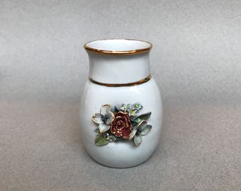 Intricate flower vase