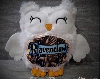 Hedwig Stuffie Hogwart House Owl