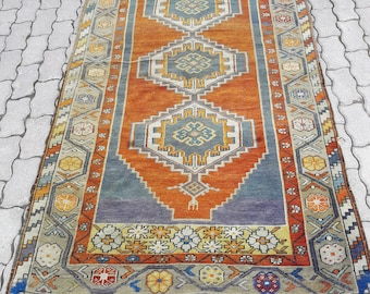 rug 4x8. turkish rug carpet,rugs ,bohemian rug,carpet,oushak rugs, vintage 4x8