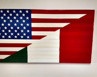 Italian-American Flag/My Country-My Heritage