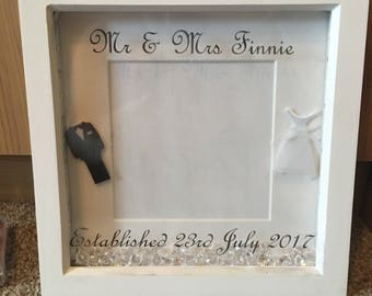 Mr and Mrs wedding gift